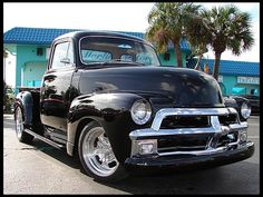 1955 Chevrolet 3100 Pickup 350 CI, Automatic presented as lot K139 at Kissimmee, FL 2013 - image1