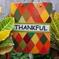 THANKFUL FROM: Linked to: craftdictator.com/2013/10/27/thankful-sign/