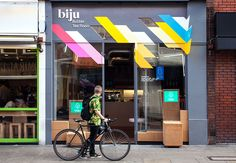 color makes a huge difference // Biju identity design