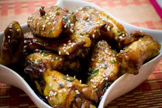 Receta de Alitas de Pollo Coreanas