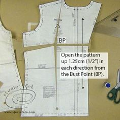 Excellent #PatternFix for your patterns! Fitting Commercial Patterns - #FBA #sewingpattern