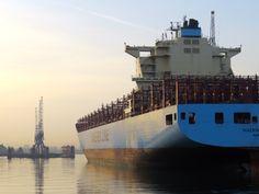 Maersk Lirquen - Port of Schiedam
