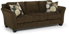 Stanton Sofas - 184 love seat and 1 1/2 chair