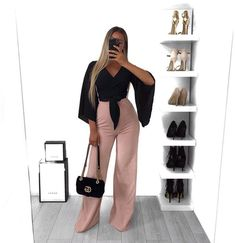 Boujee Outfits, Cute Casual Outfits, Stylish Outfits, Summer Outfits, Fashion Outfits, Womens Fashion, Look Festival, Wide Pants, Women's Pants