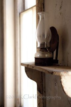 Lamp light Fine Art Photography Rustic Living home by KClarkWest, $35.00