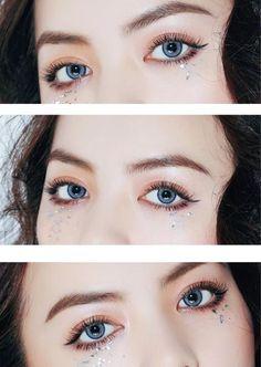 Cheap Colored Contact Lenses Halloween PRO Blue Eye