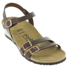 This wedge sandal from the Papillio collection combines smart style with comfortable support. Order now from HappyFeet.com to enjoy fast and free shipping! Birkenstock Sandals, Birkenstock Mayari, Smart Styles, Sock Shoes, Wedge Sandals, Spring Outfits, Wedges, Fashion Outfits, Clothes For Women