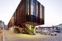 Fish Market in Bergen, Norway, Bergen, Norway Eder Biesel Arkitekter AS