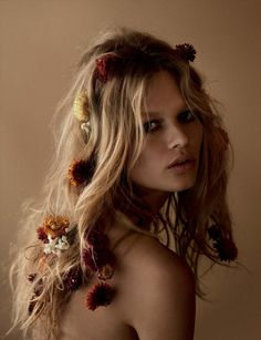 Anna Ewers by Camilla Åkrans for Vogue Germany March 2015