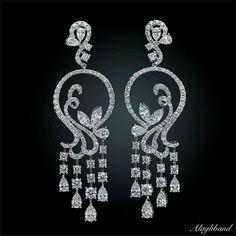Diamond Solitaire Earrings H I – Modern Jewelry Mens Diamond Jewelry, Diamond Drop Earrings, Unusual Jewelry, Designer Earrings, Beautiful Earrings, Jewelery, Jewelry Design, Diamonds, Ear Drops