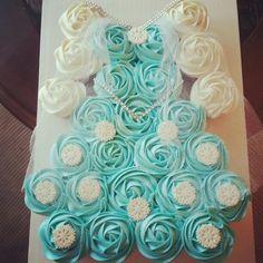 Elsa cupcake dress