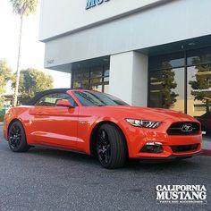 2015 Mustang Convertible Comp Orange