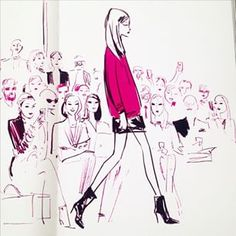 Detail from London Sketchbook fashion chapter. Anyone familiar  @tonyglenville…