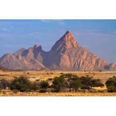 Spitzkoppe (1784 meters) Namibia Canvas Art - David Wall DanitaDelimont (35 x 24)