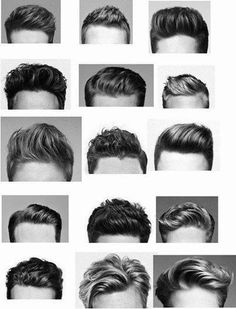 Hair style for men