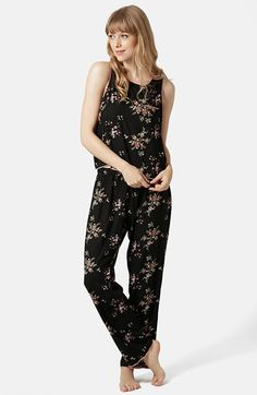 Topshop Floral Pajama Set available at #Nordstrom