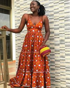 View our collection of Long Ankara Gowns. Pictures of The Latest Long Ankara Dress Styles in 2018 More Photos from our Collection of Long Ankara Gown Styles in 2018 Long Ankara Dresses, Ankara Peplum Tops, Ankara Dress Styles, Ankara Gowns, Ankara Styles For Women, Latest Ankara Styles, Ankara Stil, Style Africain, Top Wedding Dresses