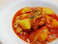 トマト缶で簡単♪鳥もも肉のトマト煮♪の画像