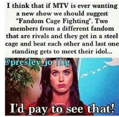 Bring it! #DirectionersAreRuthless think if they put a Directioner and somehow found a the wanted fan....now tht wud be worth some cash