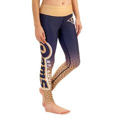 Classic St. Louis Rams Klew Women s Gradient Leggings - Navy 78f4491b4