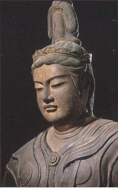 Taishakuten (Indra) statue at To-ji Temple, Kyoto, Japan