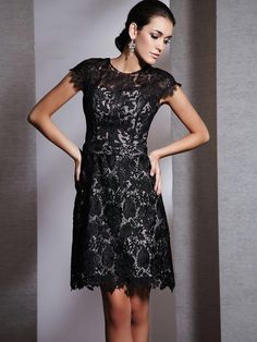 Short black a line dress Mob Dresses 6d67b07171f