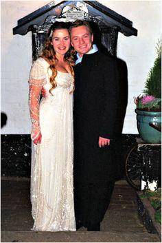 Retrô - Casamento de famosos 2012. Atriz Kate Winslet e Ned Rocknroll