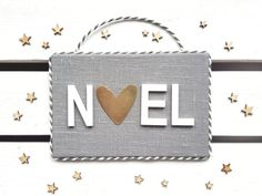 Scandinavian style Christmas wall decor NOEL by HavenOfHarmony Scandinavian Style, My Etsy Shop, Wall Decor, Shoulder Bag, Trending Outfits, Unique Jewelry, Handmade Gifts, Bags, Vintage