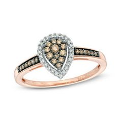 G-H,I2-I3 Size-3 1//20 cttw, Diamond Wedding Band in 10K Pink Gold