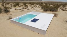 The swimming pool, symbol of Southern California, takes a dip