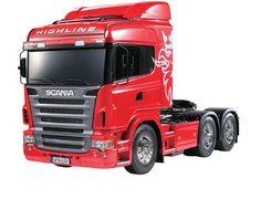1/14 R/C Scania R620 6X4 Highline Truck Model Kit