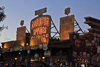 If you are in the mood for some more shopping, stop by Ramone's House of Body Art or Radiator Springs Curios.  Even if you aren't looking to shop, do yourself a favor and stop by Curios for a look at all the details here because it is just chock-full of them!