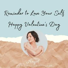 Reminder to Love Your Self Happy Valentine's Day! #valentines #SelfLove #ValentinesDay