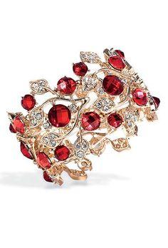 strawberry bracelet #vintage #jewelry vintage jewelry art diy