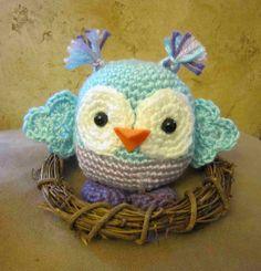 """U Knit Me....: """" Another Hootie Cutie...."""""""