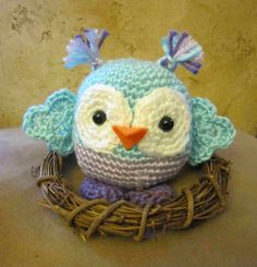 "U Knit Me....: "" Another Hootie Cutie...."""