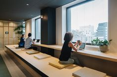 airbnb's tokyo office provides respite from hectic city life