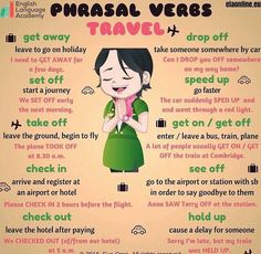 Forum | ________ Learn English | Fluent LandPhrasal Verbs with TRAVEL | Fluent Land