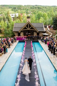 Liancarlo wedding dress | Four Seasons Vail | Vail, Colorado |  Doug Treiber Photography