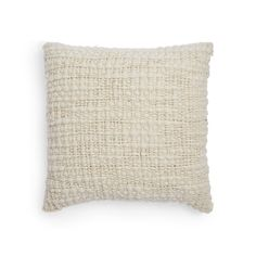 Arcade Avec Cream Madrugada Pillow $325 20 x 20 wool and silk    ABC Home
