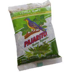 Yerba Mate Pajarito Herbs  Menta Burrito Cedron
