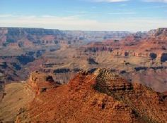 The Grand Canyon...never been