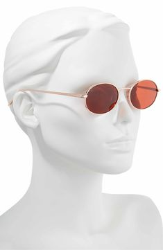 7db8f6486cf Main Image - Privé Revaux x Madelaine Petsch The Candy 50mm Round  Sunglasses Madelaine Petsch