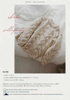 Knit Crochet, Crochet Hats, Drops Design, Pulls, Knitted Hats, Sweaters, Cardigans, Knitting, Pattern
