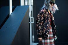 On the Streets of London Fashion Week Fall 2014 - LFW Street Style - Chloe Norgaard