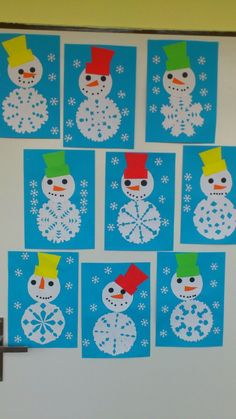 Snowflakes art, snowflake craft, winter fun, winter theme, winter activities for kids Kids Crafts, Winter Crafts For Kids, Winter Fun, Winter Theme, Toddler Crafts, Preschool Crafts, Art For Kids, Creative Crafts, Crafts For Preschoolers