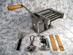 Sold Vintage Macaroni Pasta Maker made in Italy from ITALIAN BOOK
