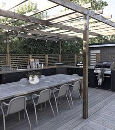 Outdoor Rooms, Outdoor Gardens, Outdoor Living, Outdoor Decor, Pergola Patio, Backyard Patio, Gazebos, Australia House, Garden Deco
