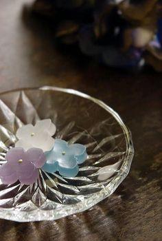 Japanese sweets / あじさい (ajisai)