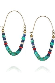 Greenie Dresses for Less: Out of Africa Earrings   Isabel Marant earrings - Image source CoolSpotters